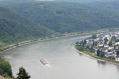 Photograph - Rhine River 48 Koblenz by Steve Breslow