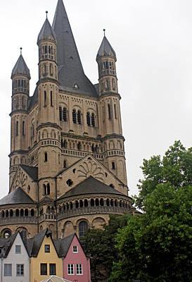 Photograph - Rhine River 49 Koblenz by Steve Breslow