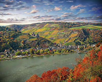 Photograph - Rhine River Valley by Anthony Dezenzio
