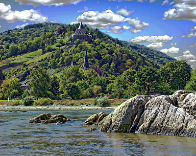 Photograph - Rhineland Landscape by Anthony Dezenzio