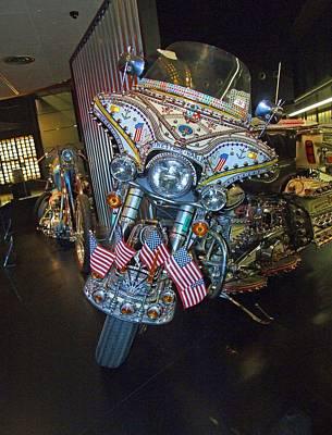 Photograph - Rhinestone Harley II by Michiale Schneider