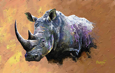 - Rhino by Anthony Mwangi