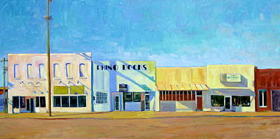Nashville Building Painting - Rhino Books by William Paul Proctor