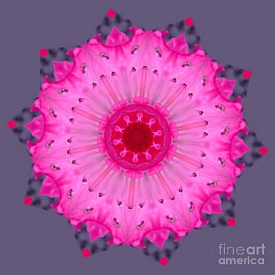 Digital Art - Rhoda Mandala by Julia Underwood