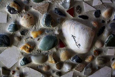 Ceramic Mixed Media - Rhode Island Beach Mosaic by Anne Babineau