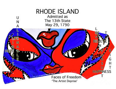 Painting - Rhode Island by Deprise Brescia