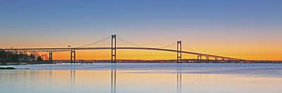 Photograph - Rhode Island Newport Bridge by Juergen Roth