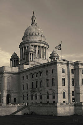 Photograph - Rhode Island State House I Toned by David Gordon