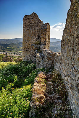 Photograph - Rhodes Castle Ruins, Rhodes, Greece by Global Light Photography - Nicole Leffer