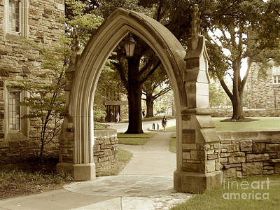 Digital Art - Rhodes College In Memphis Tennessee by Karen Francis