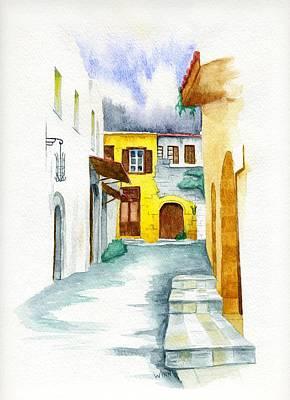 Painting - Rhodes Greece by Brett Winn
