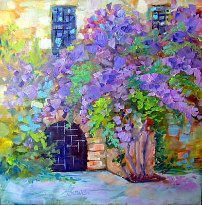 Painting - Rhodes Old Town In Greece by Adele Bower
