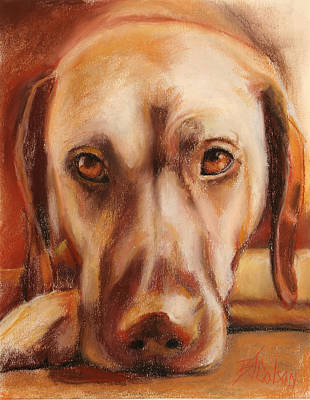 Painting - Rhodesian Ridgeback by Billie Colson
