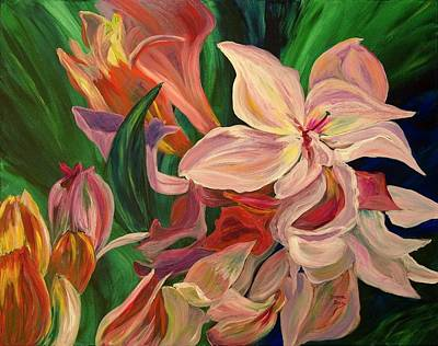 Painting - Rhododendron by Donna Drake