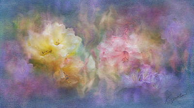 Photograph - Rhododendron Fantasy by Kasandra Sproson