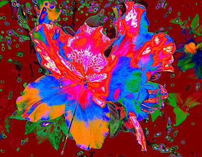Digital Art - Rhododendron Robusto by Larry Beat