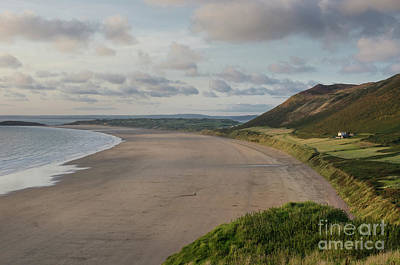 Photograph - Rhossili Bay, South Wales by Perry Rodriguez