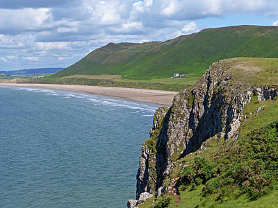 Photograph - Rhossili Beach by Bruce