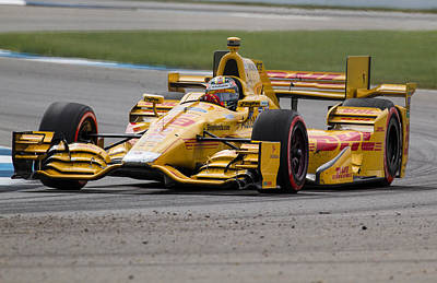 Ryan Hunter-reay Photograph - RHR by David Lambert