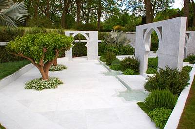 Photograph - Rhs Chelsea Beauty Of Islam Garden by Chris Day