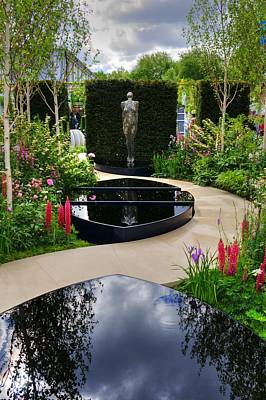 Photograph - Rhs Chelsea Breakthrough Breast Cancer Garden by Chris Day