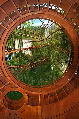 Photograph - Rhs Chelsea Dark Matter Garden by Chris Day