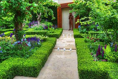 Photograph - Rhs Chelsea Healthy Cities Garden by Chris Day