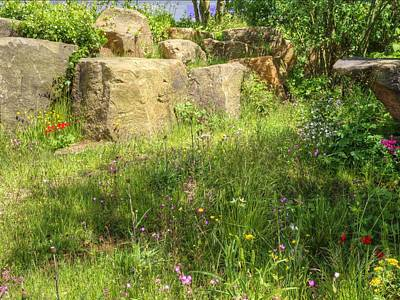 Photograph - Rhs Chelsea Laurent-perrier Chatsworth Garden by Chris Day