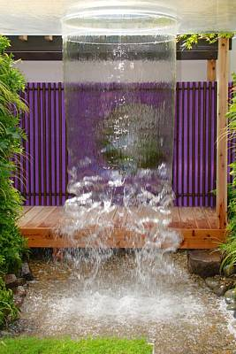 Photograph - Rhs Chelsea Personal Universe Garden by Chris Day