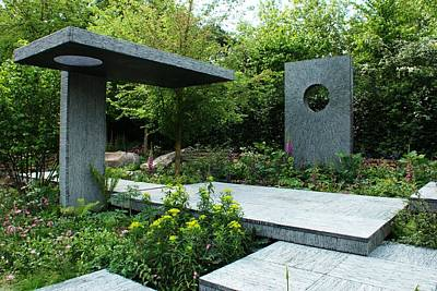 Photograph - Rhs Chelsea The Brewin Dolphin Garden by Chris Day