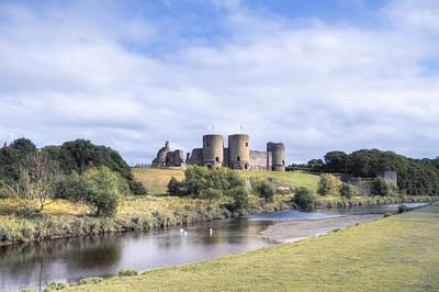 Rhuddlan Castle - Wales Art Print by Joana Kruse