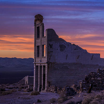 Photograph - Rhyolite Dawn by Ralph Nordstrom