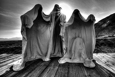 Photograph - Rhyolite Ghosts by David Andersen