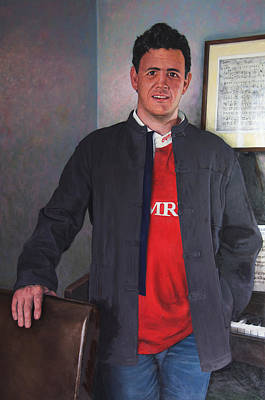 Painting - Rhys Meirion by Harry Robertson