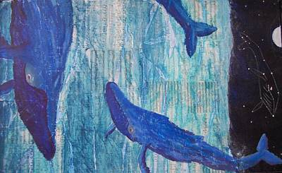 Humpback Whale Mixed Media - Rhythm And Blues by Adam Davis