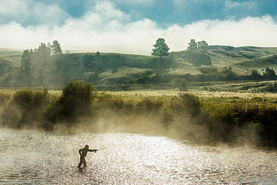 Fog Rising Photograph - Rhythm And Grace by Todd Klassy