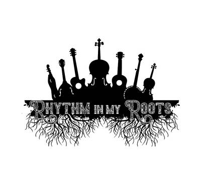 Digital Art - Rhythm In My Roots by Heather Applegate