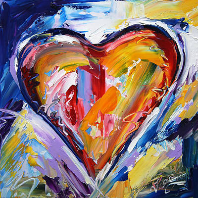 Painting - Rhythm Of Love  by Laurie Pace