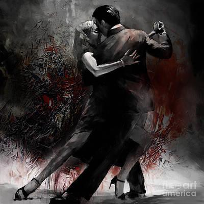 Rhythm Of Tango Art Print