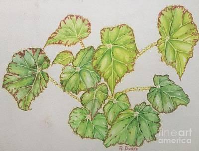 Painting - Rhythm Of The Leaves by Randol Burns