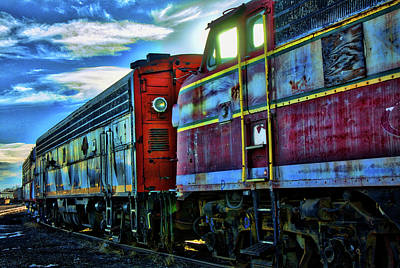 Photograph - Rhythm Of The Rails by Mike Flynn