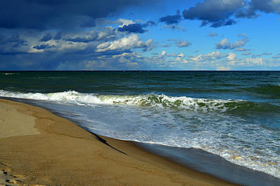 Undertow Photograph - Rhythm Of The Sea  by Dianne Cowen