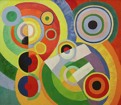 Circular Painting - Rhythm by Robert Delaunay
