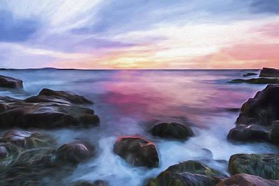 Rhythmic Dawn II Art Print by Jon Glaser