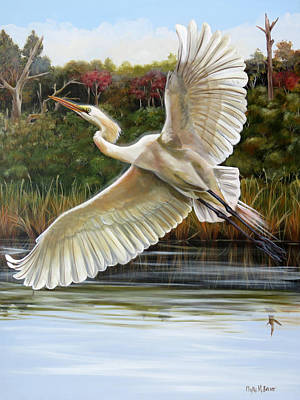 Painting - Rhythmical Flight by Phyllis Beiser