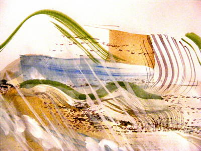 Painting - Rhythms Of Nature 2 by Nancy Kane Chapman