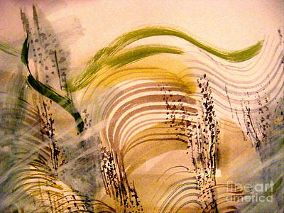 Painting - Rhythms Of Nature by Nancy Kane Chapman