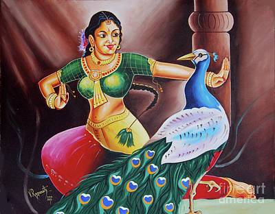 Painting - Rhythms Of Tradition by Ragunath Venkatraman