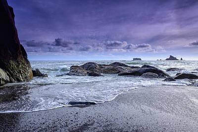 Photograph - Rialto Beach Drama by Spencer McDonald