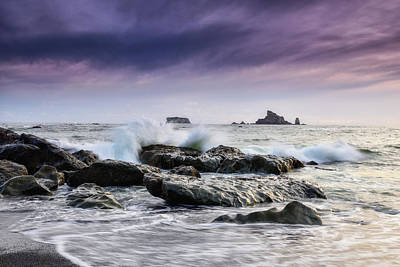 Photograph - Rialto Beach Rocks by Spencer McDonald